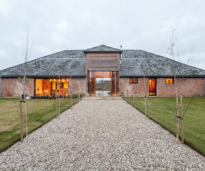 Huge Barn Transformed Into A Modern Home With An Open Floor Plan