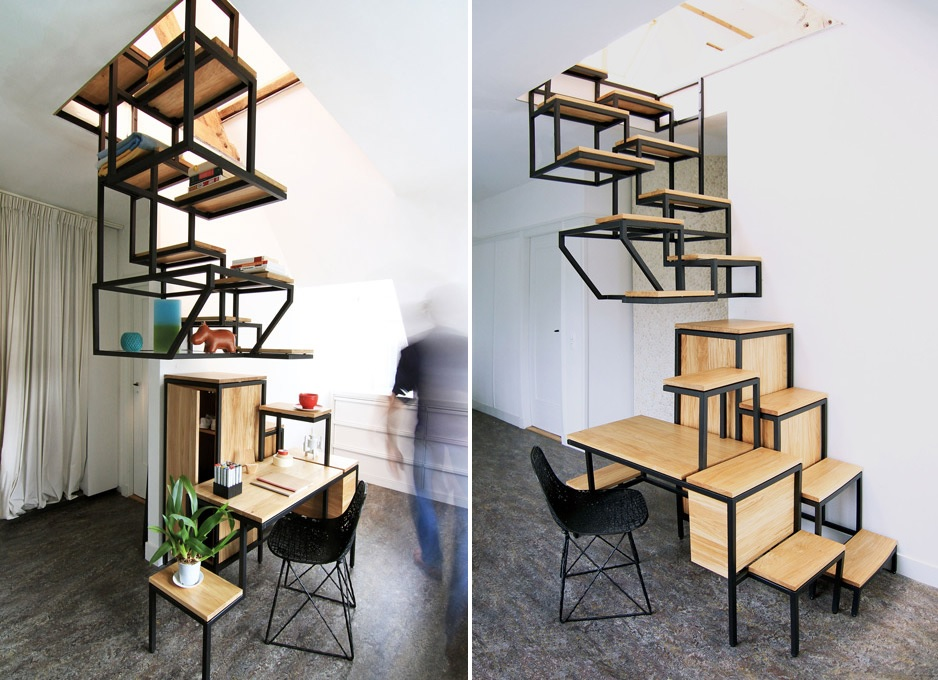 Suspended stairs Cool Staircase Designs Guaranteed To