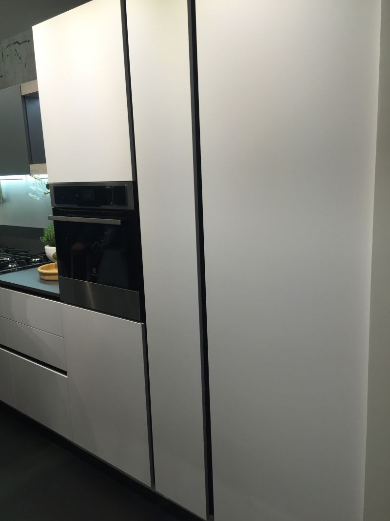 It's even possible to conceal large appliances to make them blend in seamlessly