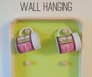 DIY: Coffee Mug Holder Wall Hanging