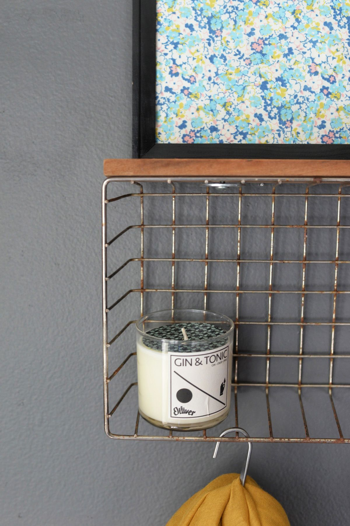 Diy Wire Basket Shelf