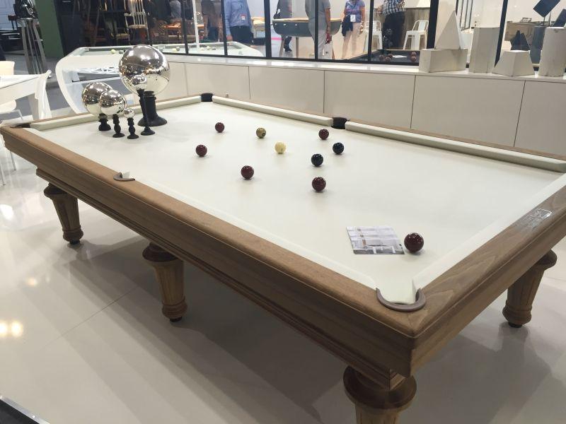 Elegant Toulet and Christophe Lambert Pool table