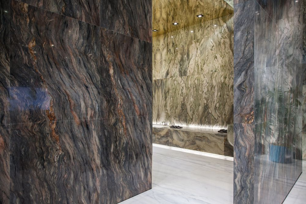 Every type of marble has its own special characteristics, whether it's color, pattern or texture