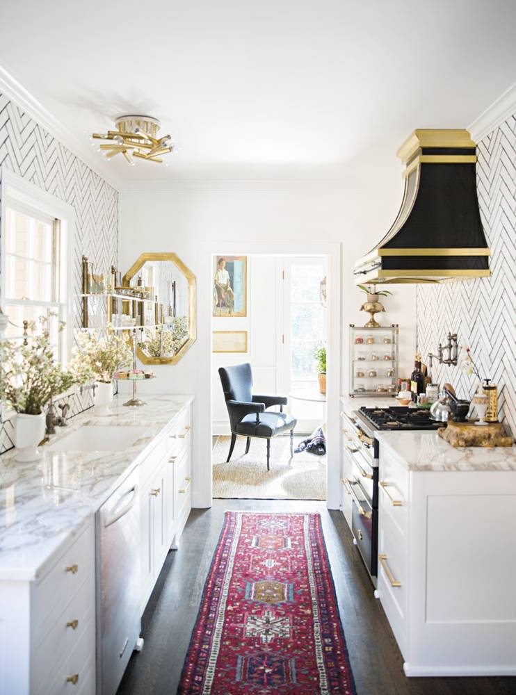 Homedit & 15 Ways to Bring Personality Into Your Galley Kitchen