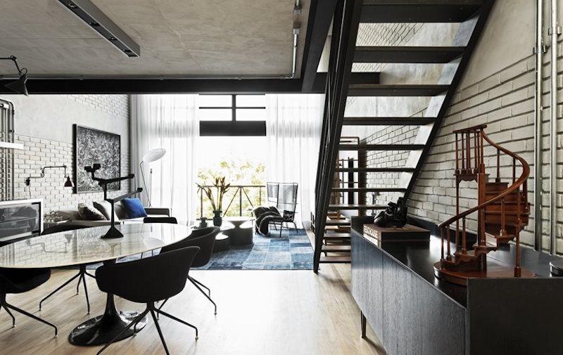 loft industrial furniture. View In Gallery Loft Industrial Furniture