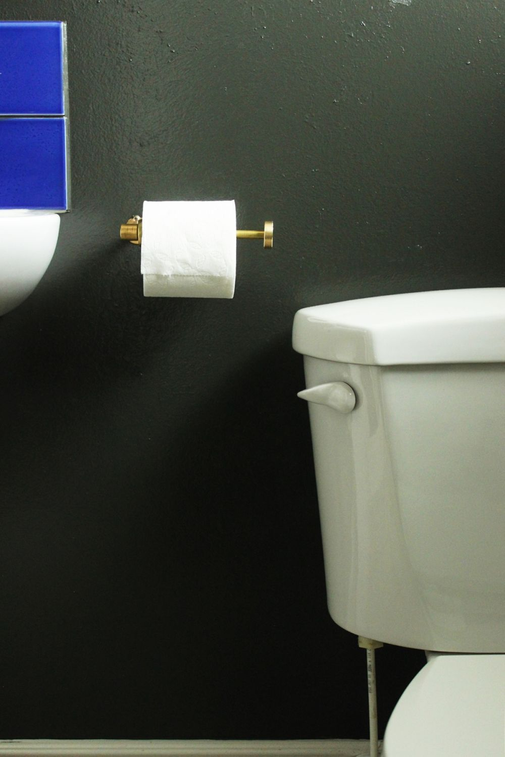 Diy Chic Brass Toilet Paper Holder