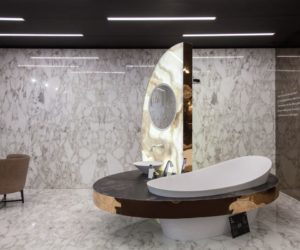 Interesting bathroom concept from Mercado da Pedra - 10 years of nature, sophistication and technology.