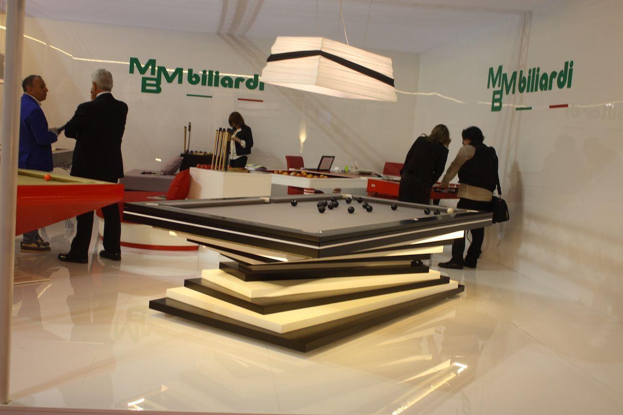 MMB Billiard stack pool table