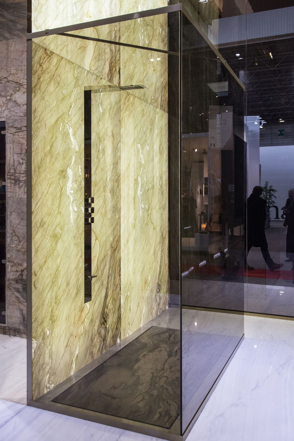 A marble shower can potentially be an exquisite bathroom feature worthy of all the attention