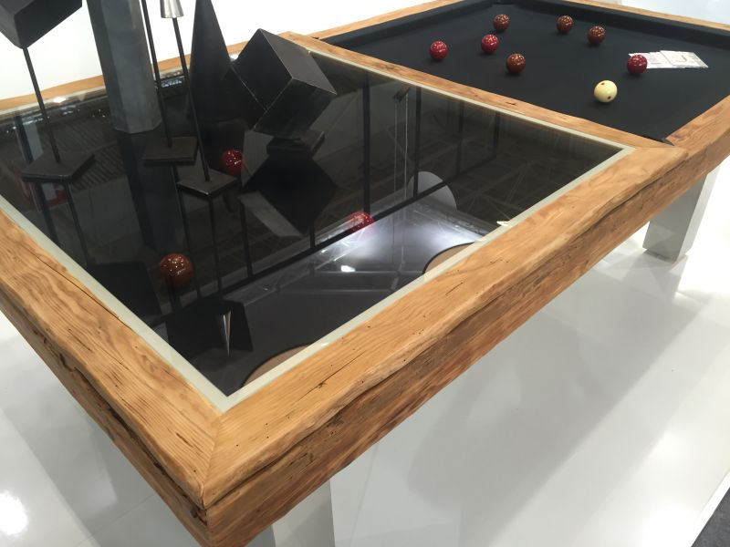 Megeve delicate beauty of a billiard table sliding system