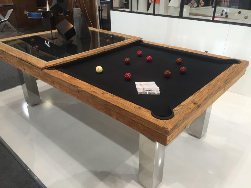 Megeve delicate beauty of a billiard table