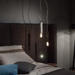Pileo Modern tripod floor lamp from Porada