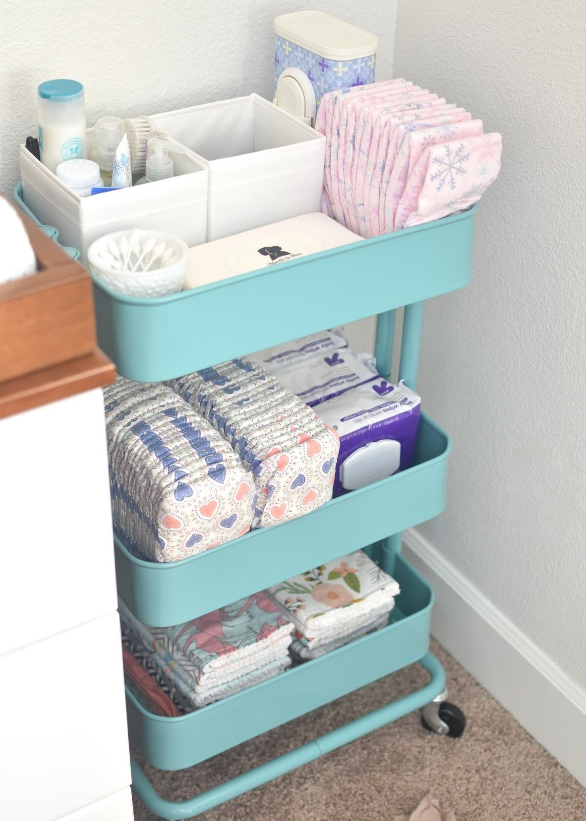 How to decorate and organize your nursery like a pro - Organizador de cajones ikea ...