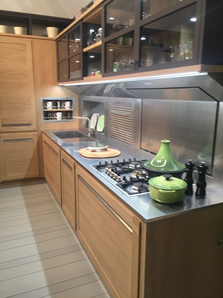 Stainless steel countertops perfect for hardworking for Stainless steel countertops cost per sq ft