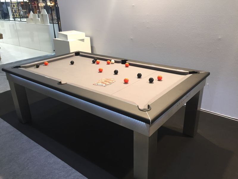 Toulet and Christophe Lambert Pool table