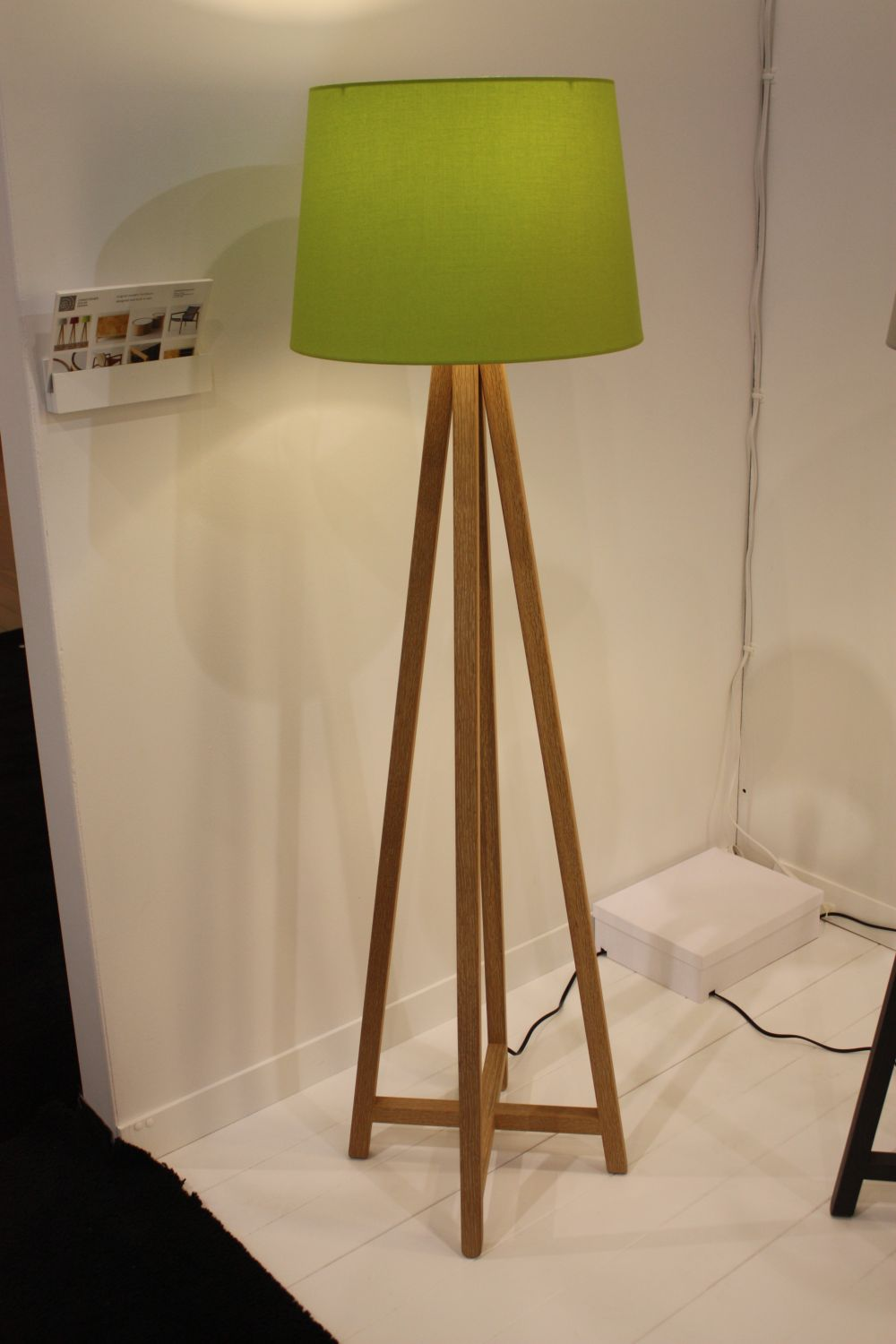 A closer look at olive color for olivus aka all of us for Olive wood floor lamp
