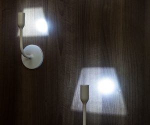Eye catching wall lamps well suited to modern interior designs think of it as a table lamp but on the wall a sconce is great because it takes up zero space on the counter table desk or floor aloadofball Images