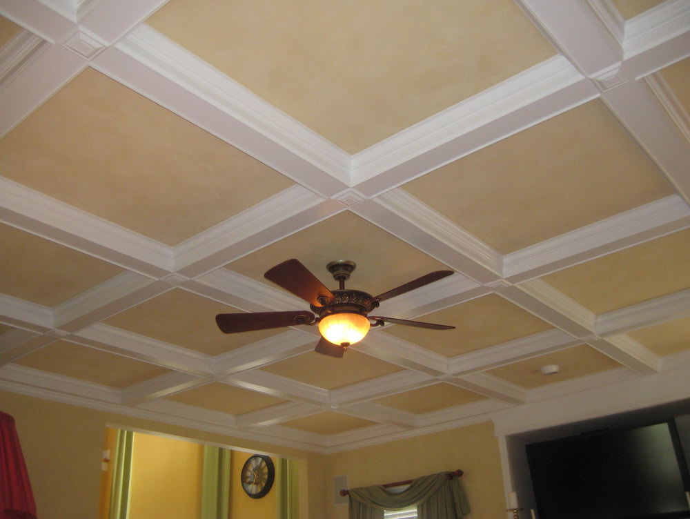 How to make your tray ceiling feel like home for Ceiling styles ideas