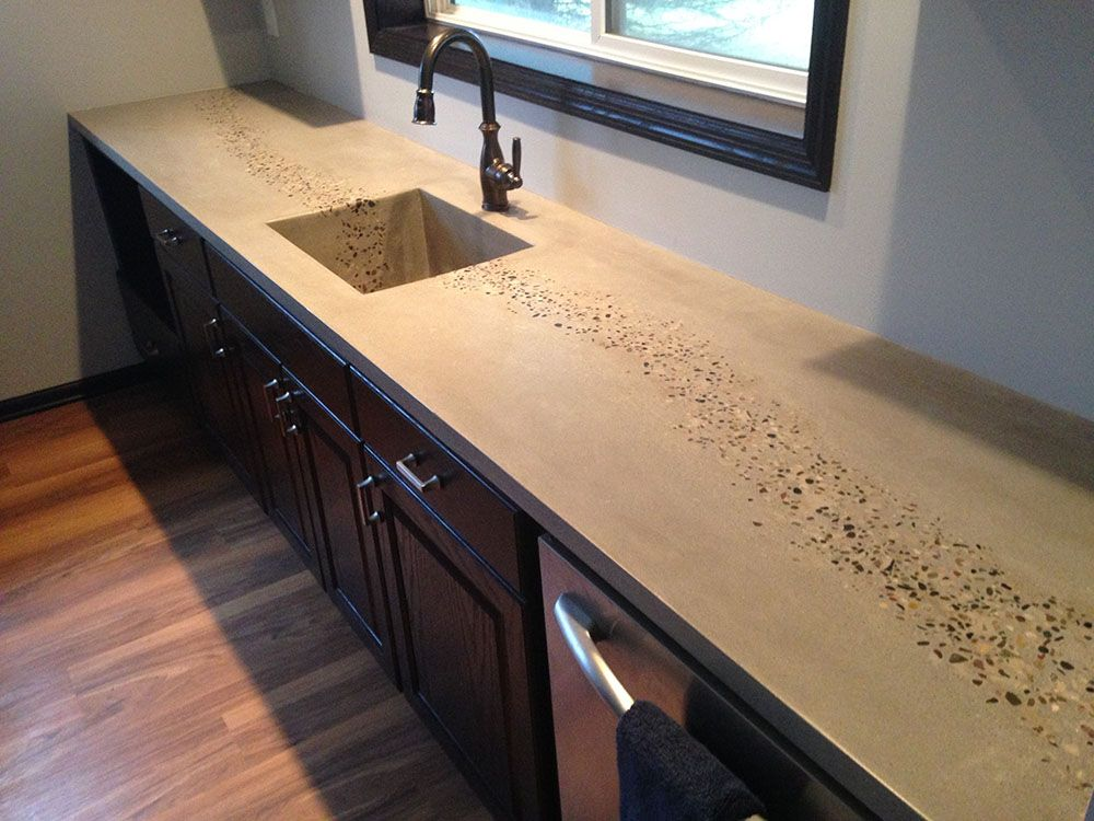 Attrayant The Imperfect Beauty Of Concrete Countertops