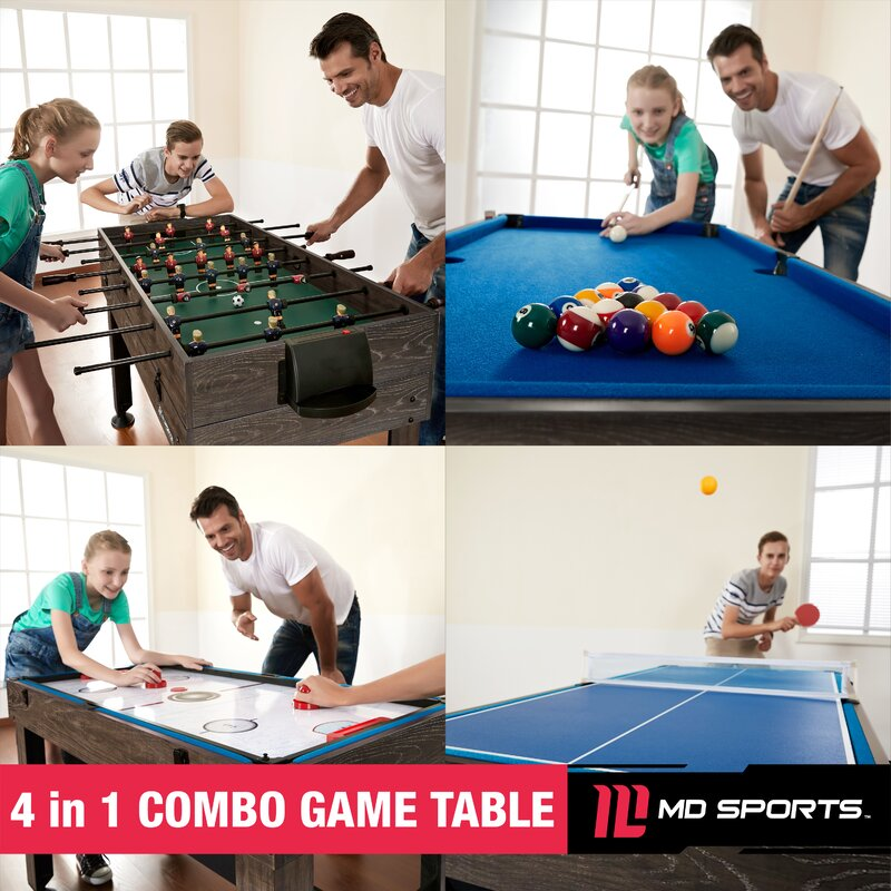 game room decor 4-in-1 Sports Table