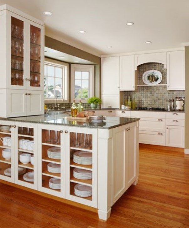 A Kitchen Peninsula Can Just be for Storage