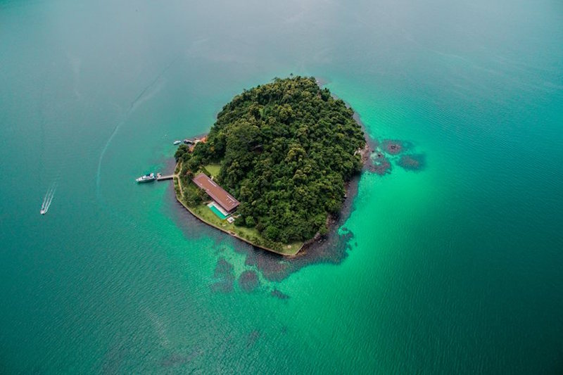 Harmonious Retreat On A Tiny Island In Brazil