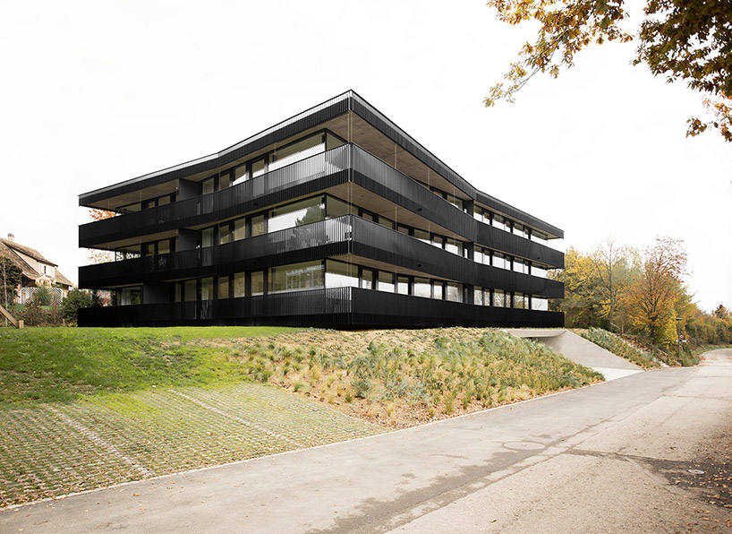 An Apartment Building By Fhv