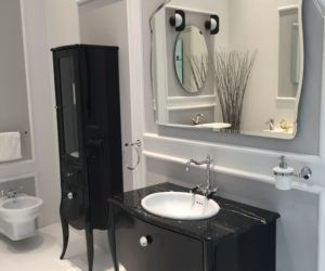 ... How To Integrate A Black Vanity Into The Bathroom Without Overdoing It