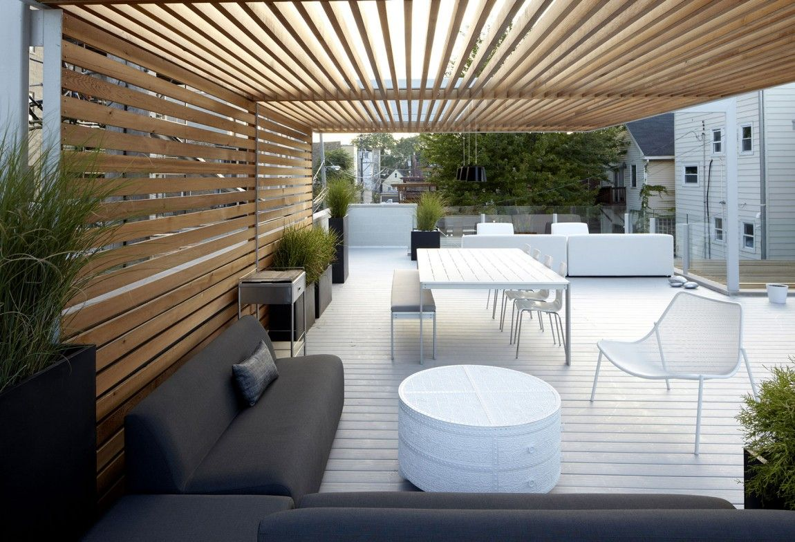 Pergola design ideas adapted by architects for their - Decke modern ...