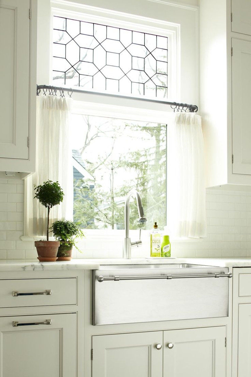 Guide to choosing curtains for your kitchen Dressing a kitchen