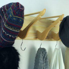 Coat Hanger from Wooden Hangers