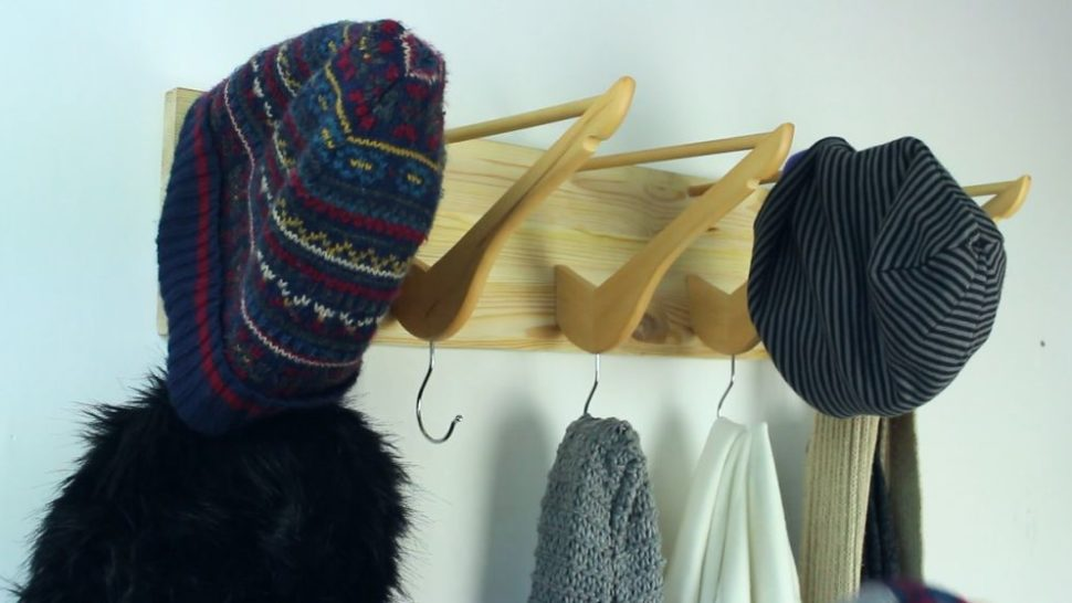 Coat Hanger from Wooden Hangers