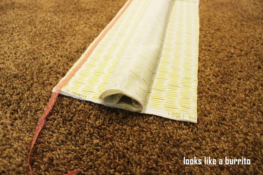 Burrito Style Pillowcase Custom How To Sew A Pillowcase Two Simple Methods