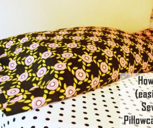 How to Sew a Pillowcase: Two Simple Methods