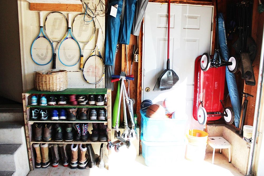 Diy Shoe Storage Shelves For Garage An Easy Fast And