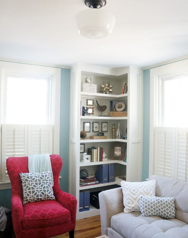 living room with built in shelves 15 ways to diy creative corner shelves 24561