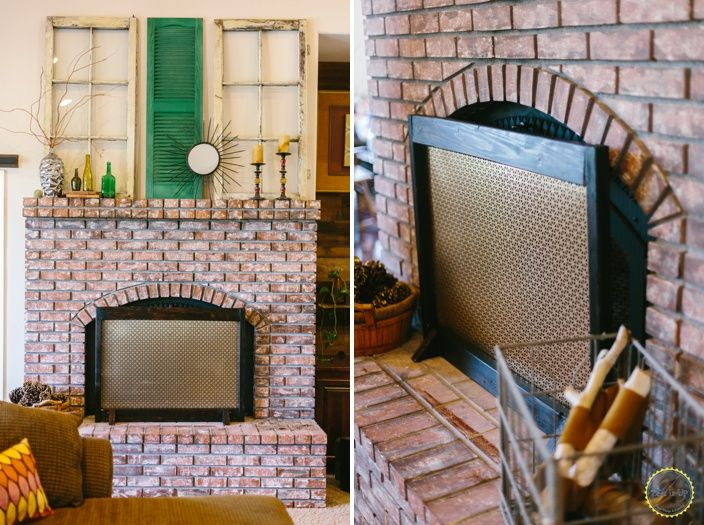 10 Ideas To Diy Your Own Fireplace Screen