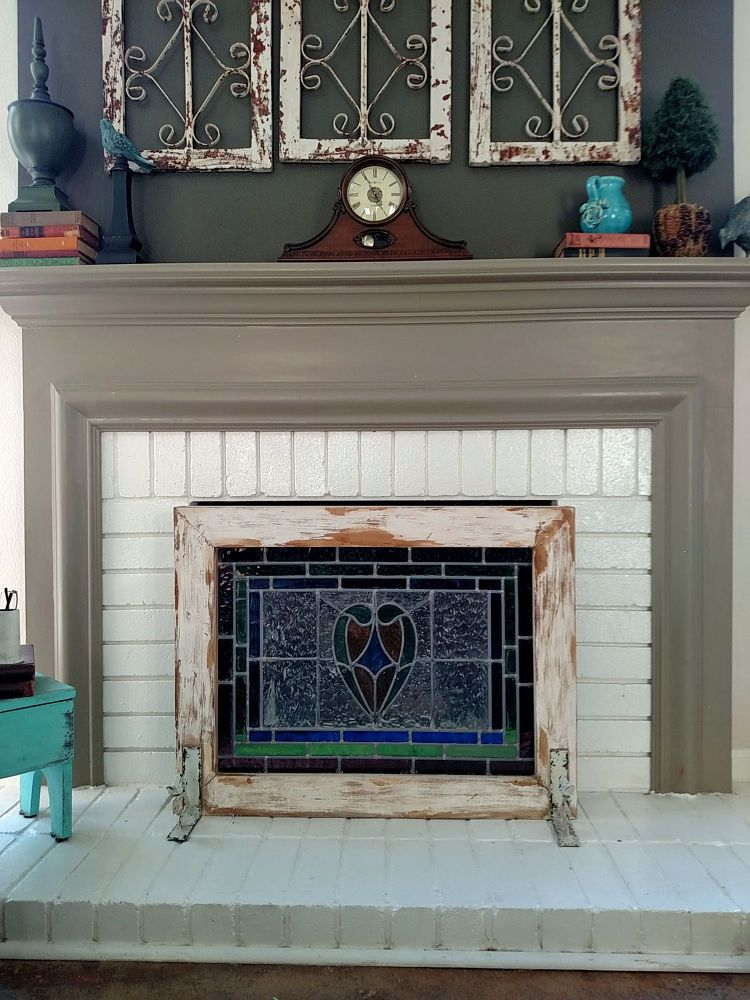 atta planked paneling style make screen and diy cedar using girl learn to fireplace farmhouse your how tongue own says