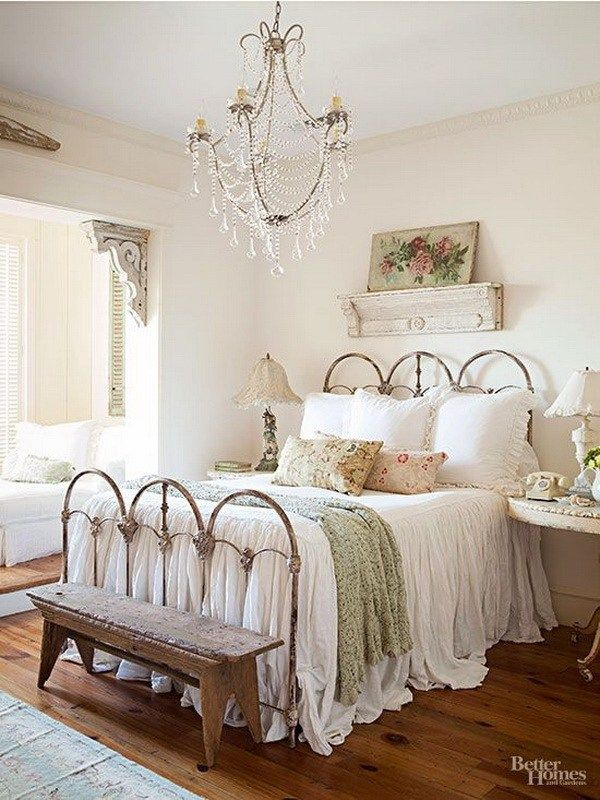 40 Tips for Creating The Most Relaxing French Country Bedroom Ever Enchanting Bedroom In French