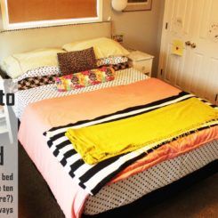 How to Make a Bed: Different Ideas with Everyday Bedding