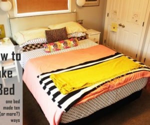 How to Make a Bed: Different Concept with Everyday Bedding
