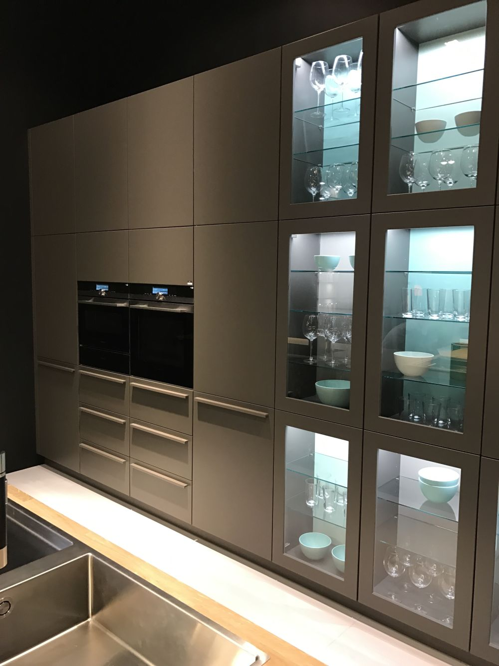 kitchen wall cabinet with glass doors glass kitchen cabinet doors and the styles that they work 9613