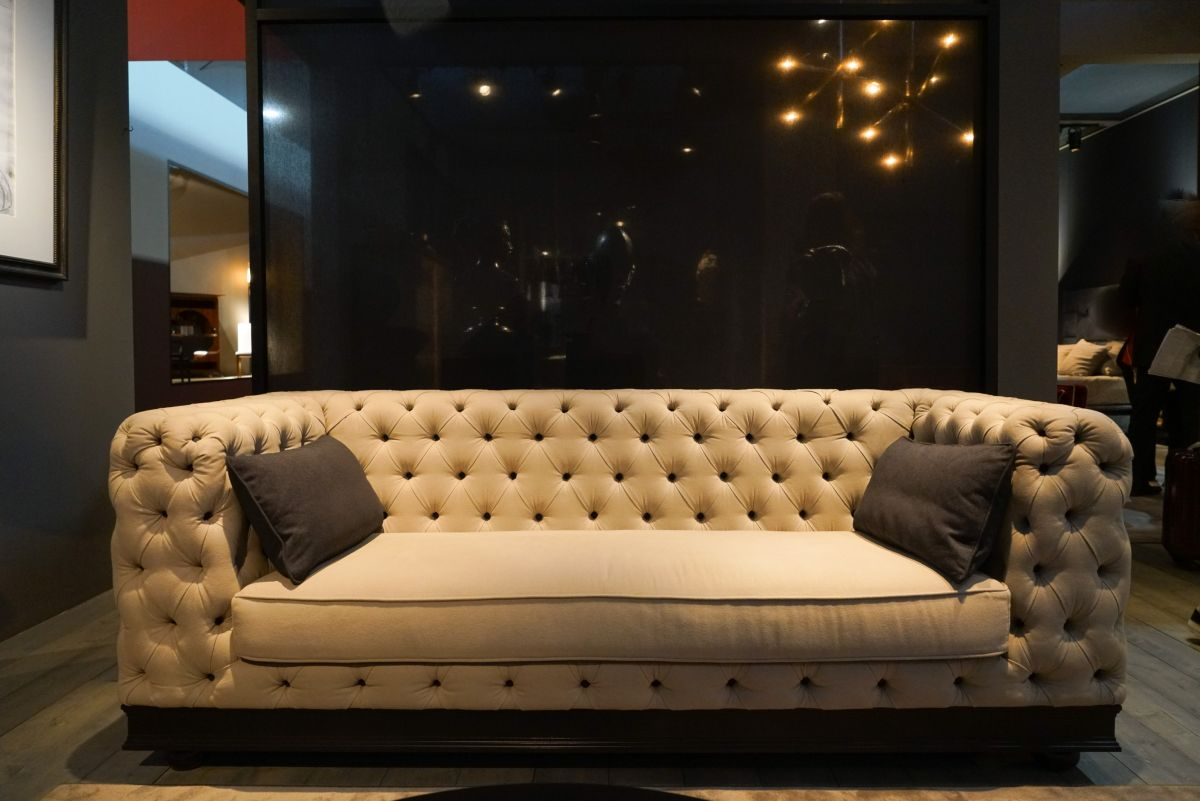 ... A Lot Of Modern Interpretations Of Classical Tufted Sofas Are Available  Worldwide