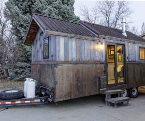 Tiny Mobile Home With Unusual Decor Features Design Ideas