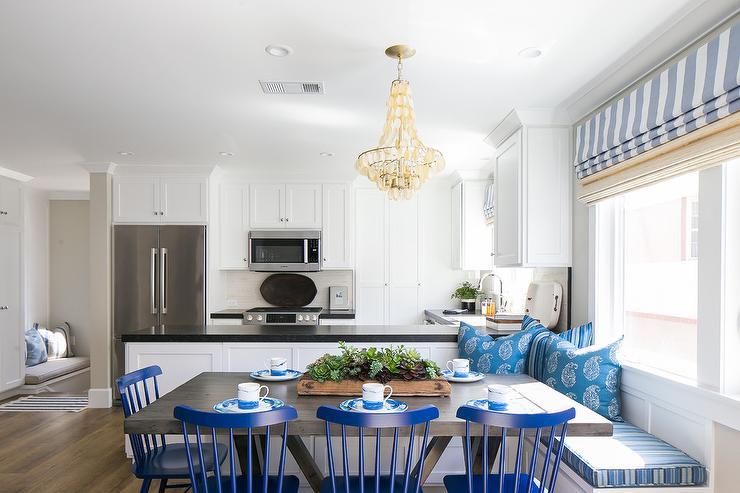 Make Your Kitchen Peninsula Into Seating