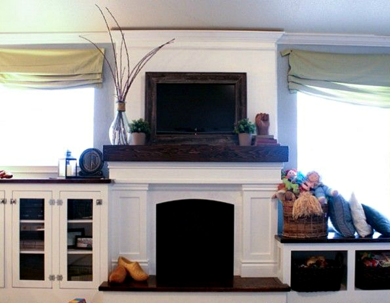 Tips Diy And Decorate Your Fireplace Mantel Shelf