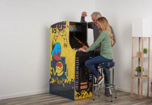 game room decor Pac-Man Home Arcade Game