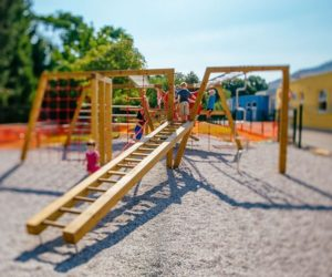 Perfect How Cool Would It Be To Transform It Into A Playground? Backyard Playgrounds  Are Great Because They Make The Kids Happy And They Let You Keep ...