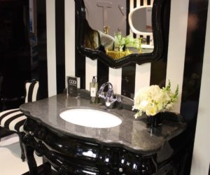 How To Integrate A Black Vanity Into The Bathroom Without ...
