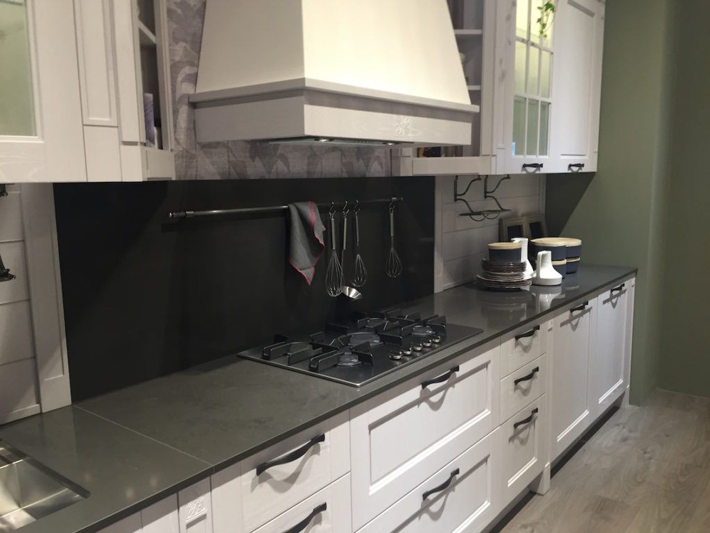 Soapstone is as equally at home in a traditional kitchen design as a modern one.